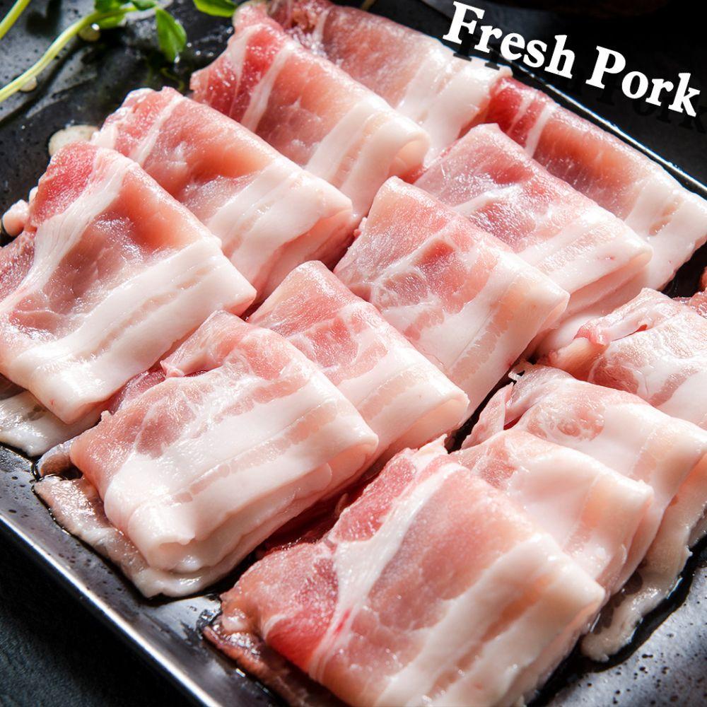 豬五花火鍋肉片