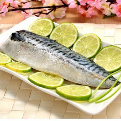 挪威薄鹽鯖魚 (規格:16p)  淨重185g/片